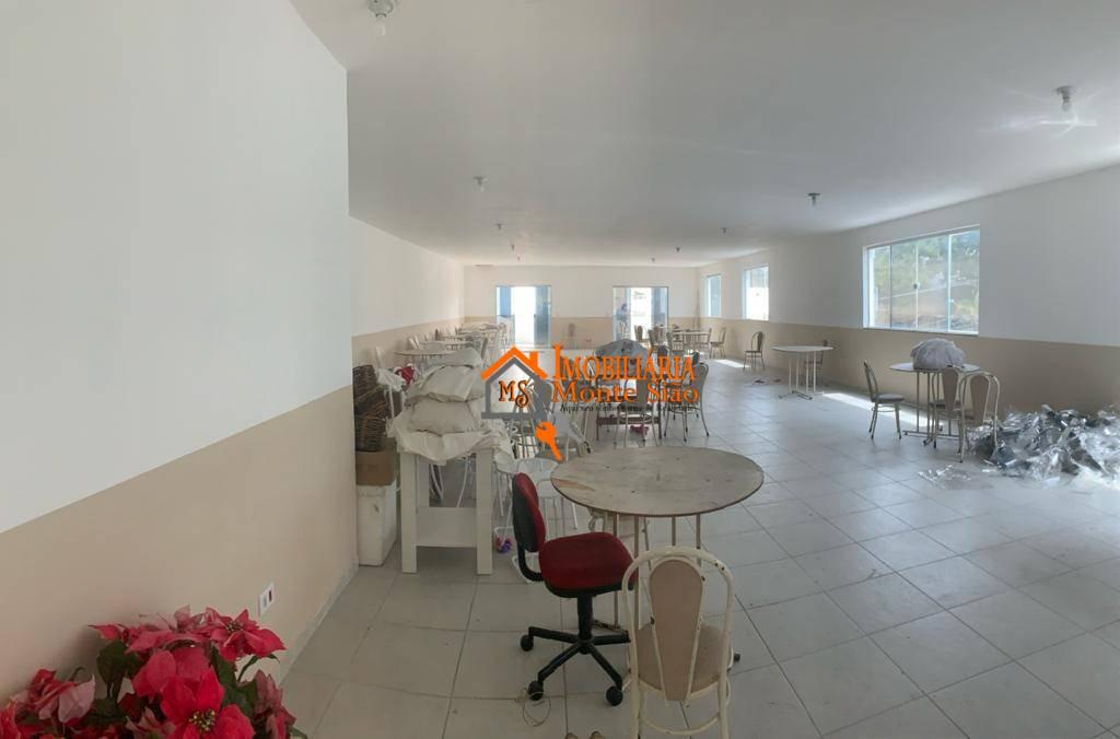 Salão para alugar, 205 m² por R$ 2.500,00/mês - Vila Itapegica - Guarulhos/SP