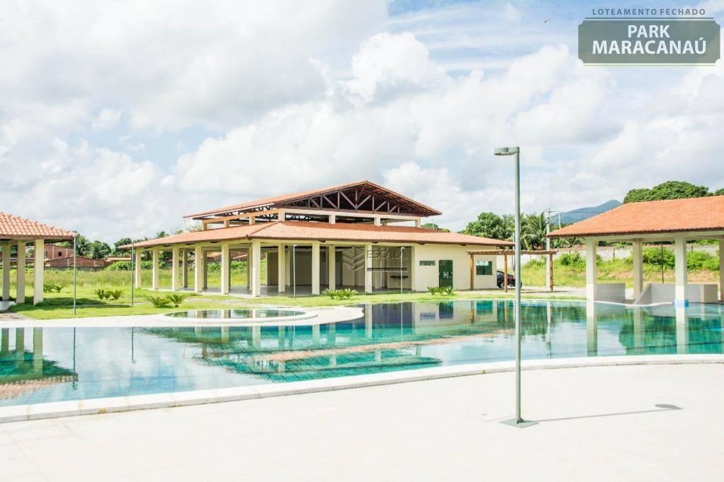 Terreno à venda, 250 m² por R$ 110.000,00 - Pavuna - Pacatuba/CE