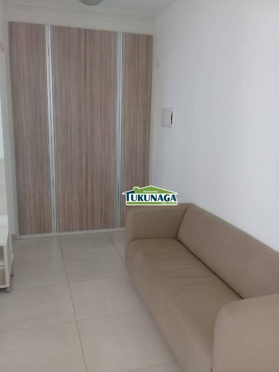 Studio à venda, 36 m² por R$ 220.000,00 - Vila Augusta - Guarulhos/SP