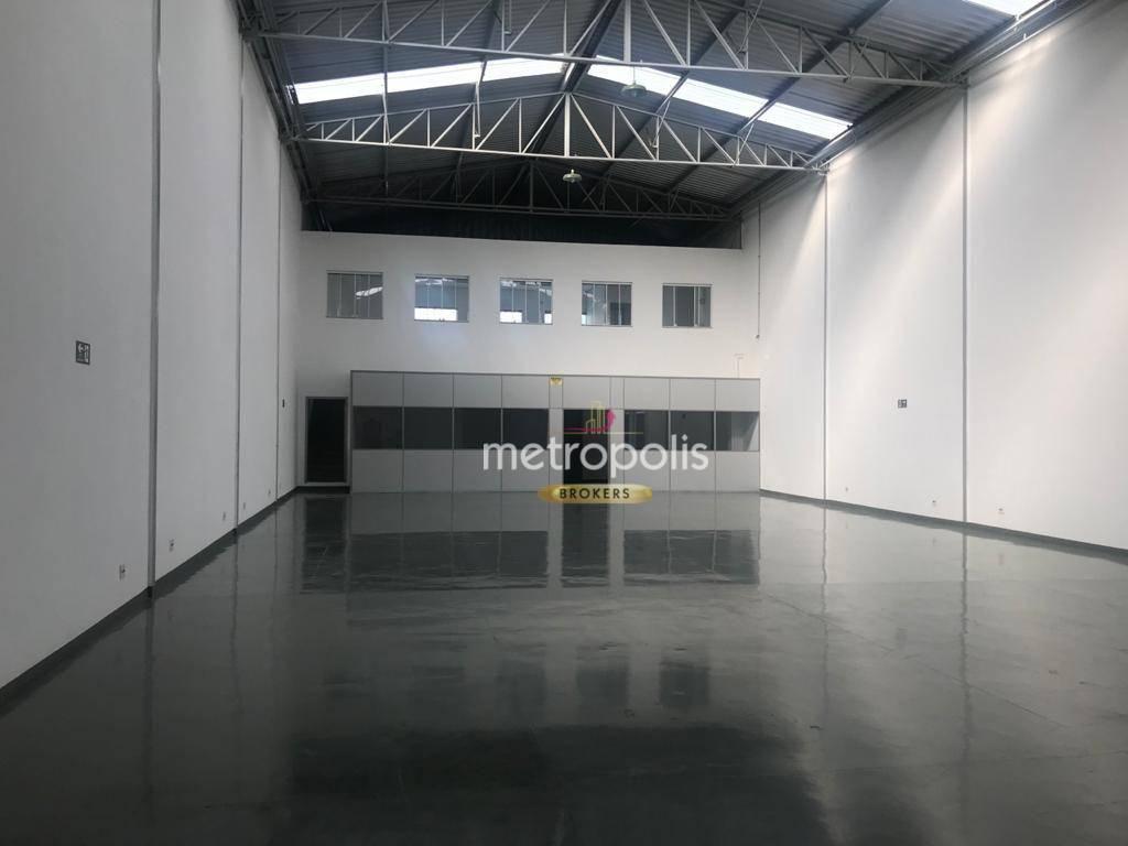 Galpão para alugar, 447 m² por R$ 15.000,00/mês - Centro - São Caetano do Sul/SP
