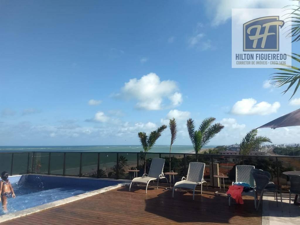 Apartamento com 4 dormitórios à venda, 140 m² por R$ 920.000,00 - P. Areia Dourada - Cabedelo/PB