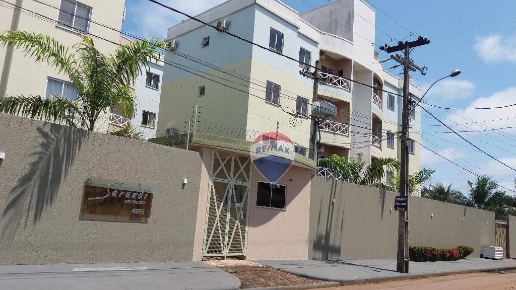 Apartamento com 3 dormitórios, 78 m² - venda por R$ 200.000,00 ou aluguel por R$ 1.300,00/mês - Rio Madeira - Porto Velho/RO