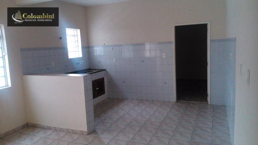 Casa com 1 dormitório para alugar, 50 m² - Vila Palmares - Santo André/SP