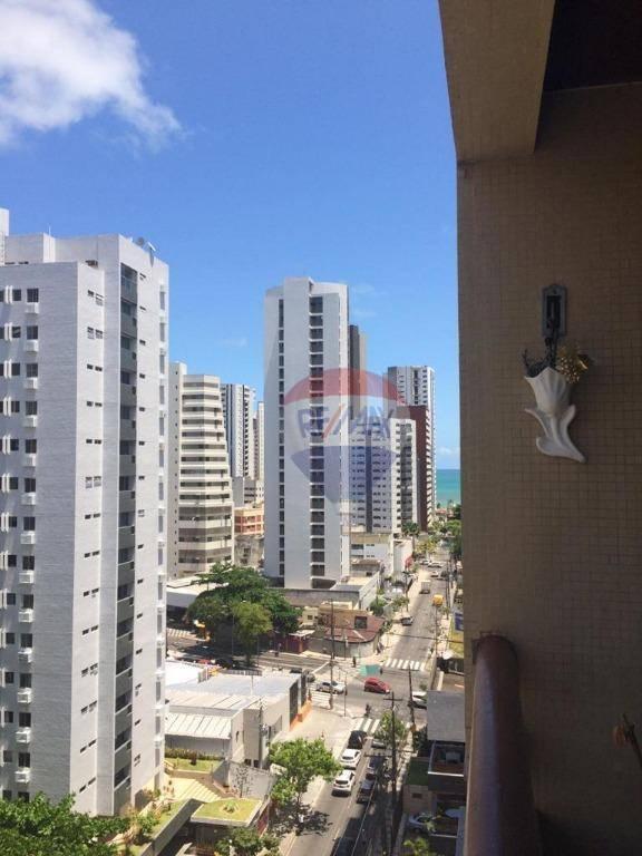 Apartamento com 3 dormitórios à venda, 115 m² por R$ 430.000,00 - Boa Viagem - Recife/PE