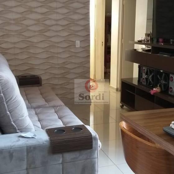Apartamento com 2 dormitórios à venda, 50 m² por R$ 190.000 - Geraldo Correia de Carvalho - Ribeirão Preto/SP