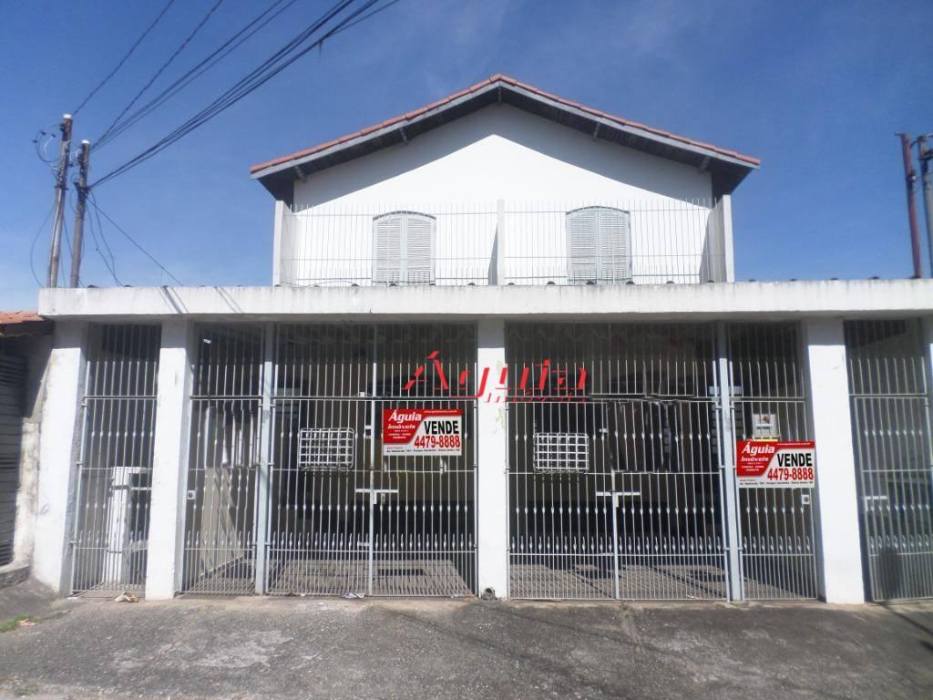 Sobrado com 2 dormitórios à venda, 483 m² por R$ 690.000 - Vila Helena - Santo André/SP