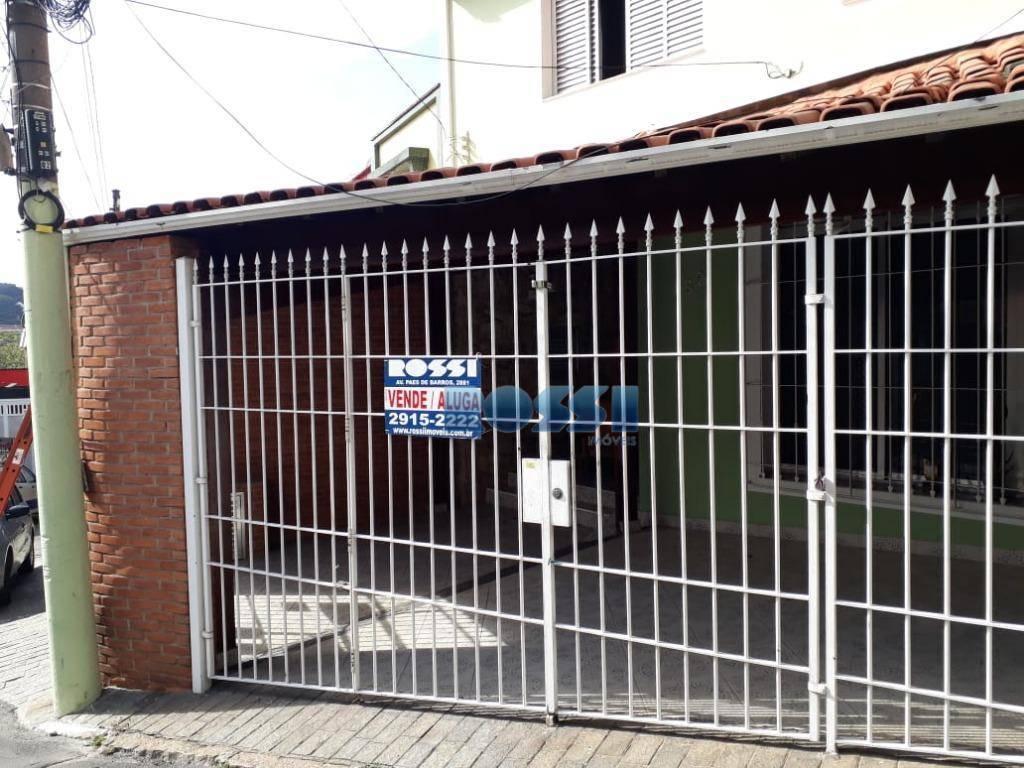 Sobrado residencial para venda e locação, Mooca, São Paulo.