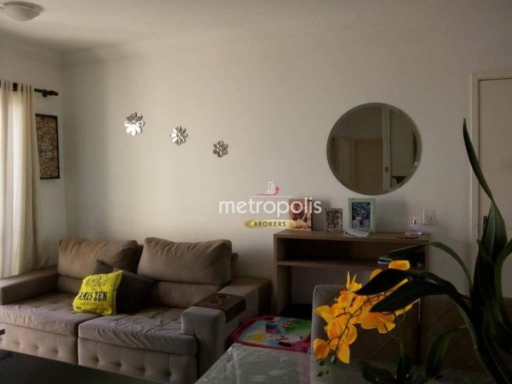 Apartamento com 2 dormitórios à venda, 54 m² por R$ 320.000 - Suíço - São Bernardo do Campo/SP