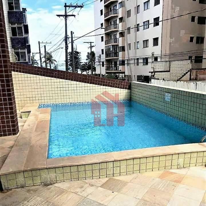 Apartamento com 2 dormitórios, 2 banheiros, prédio com LAZER e VISTA MAR - Praia Grande.