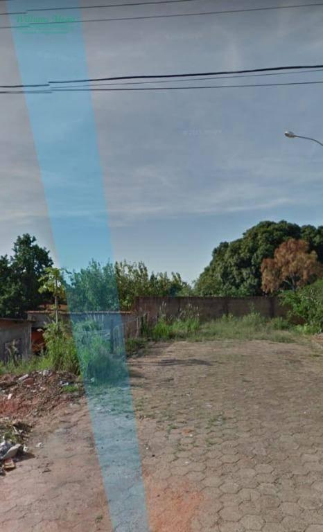 Terreno à venda, 215 m² por R$ 59.000,00 - Vila Nova - Presidente Bernardes/SP