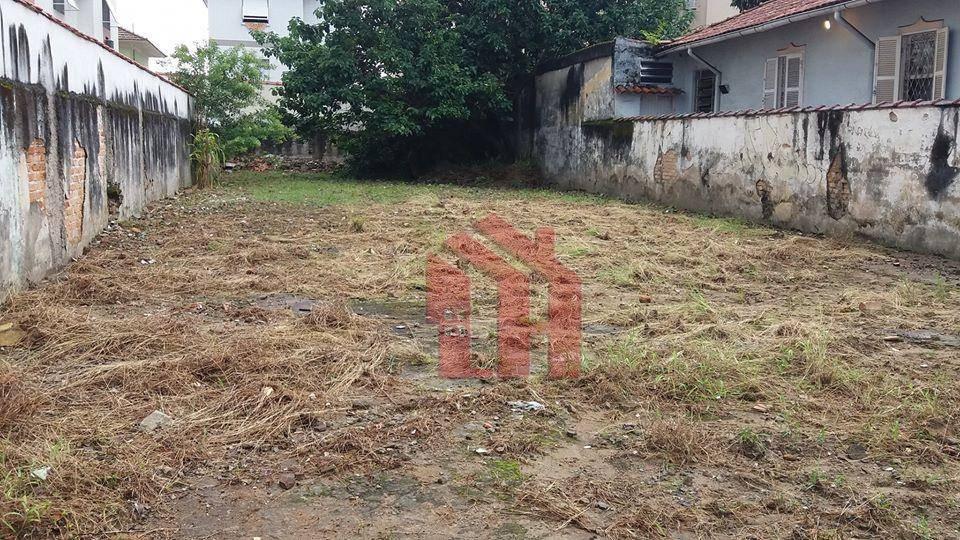 Terreno à venda, 300 m² por R$ 1.200.000,00 - Aparecida - Santos/SP