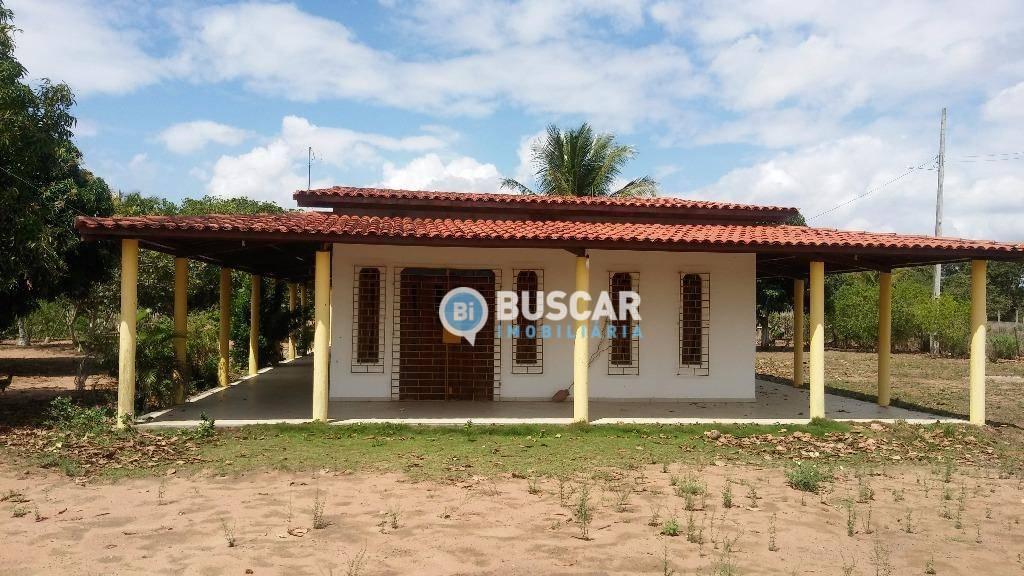 Chácara com 3 dormitórios à venda, 24000 m² por R$ 1.200.000 - Centro - São Gonçalo dos Campos/BA