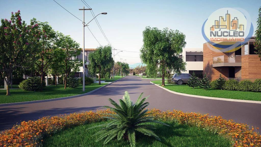 Terreno em condomínio à venda, 598 m² por R$ 258.654,00