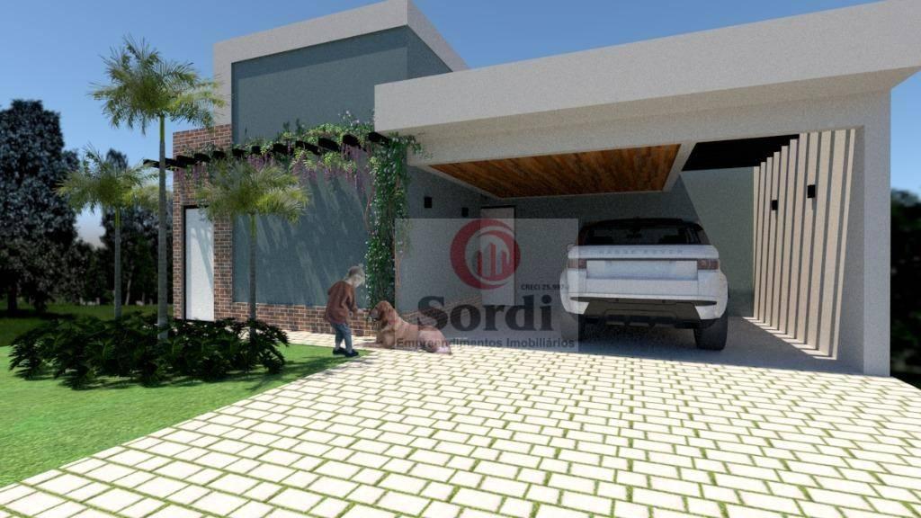 Casa com 3 suítes à venda, 140 m² por R$ 780.000 - Recreio das Acácias - Ribeirão Preto/SP