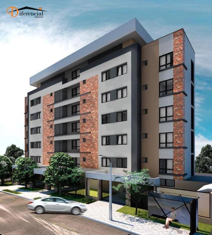 Apartamento à venda, 26 m² por R$ 228.746,45 - Portão - Curitiba/PR