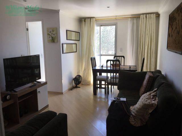 Apartamento residencial à venda, Vila Capitão Rabelo, Guarul