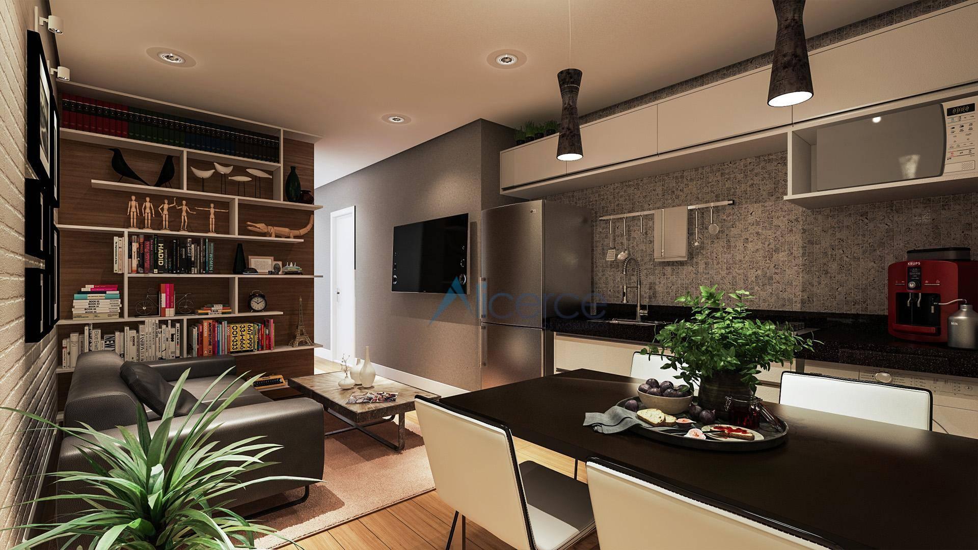 Studio com 1 quarto à venda, 34 m² por R$ 291.800 - Cascatinha - Juiz de Fora/MG