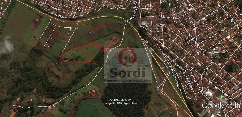 Área industrial à venda, Zona Rural, Cravinhos.