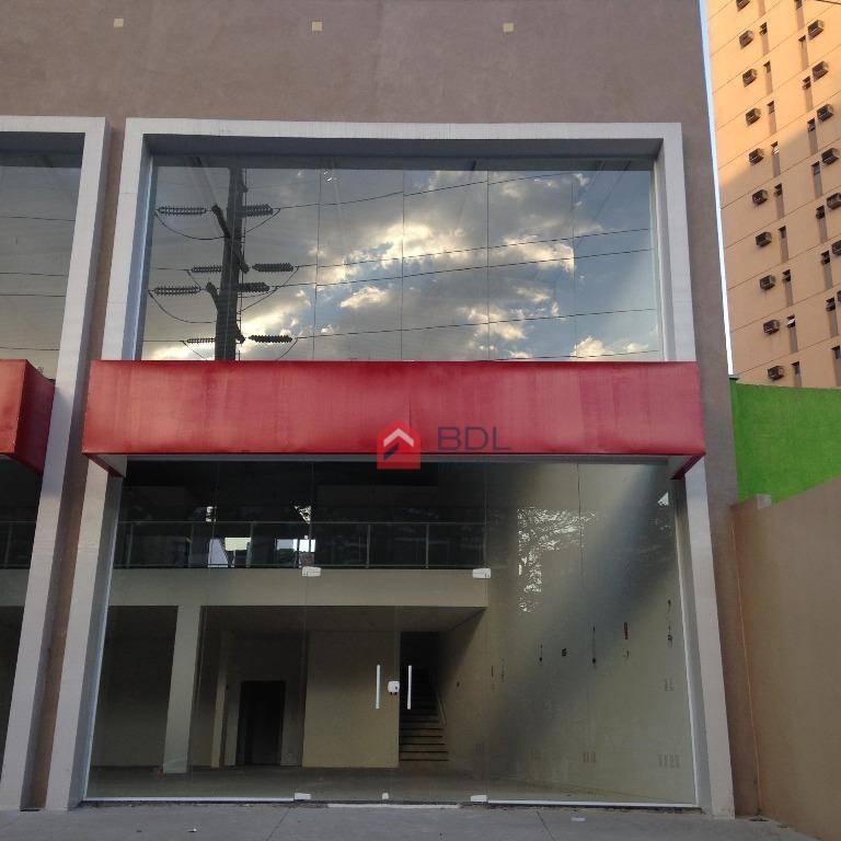 Barracão comercial para locação, Cambuí, Campinas - SL0001.