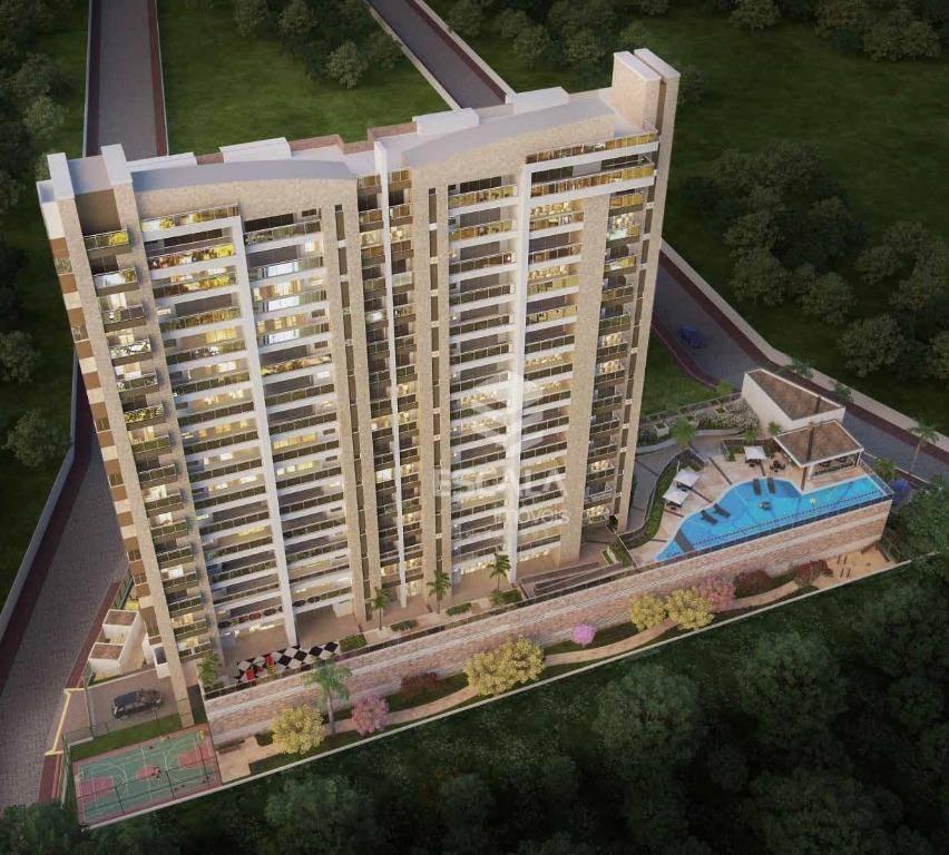 Apartamento com 4 quartos à venda, 110 m², área de lazer, 2 vagas, financia - cidade dos Funcionários - Fortaleza/CE