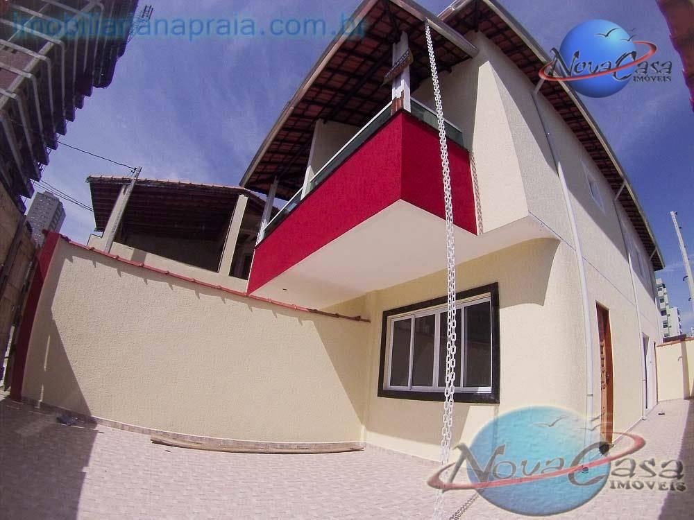 Sobrado 2 Dormitórios com suite, Aviação, Praia Grande.