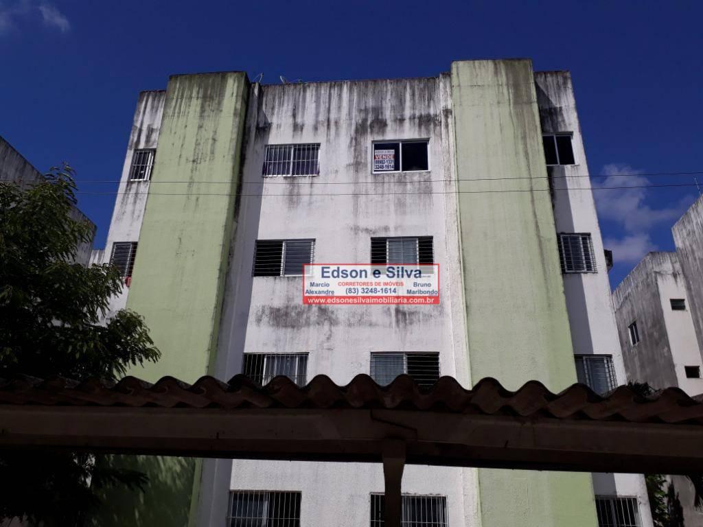 Apartamento com 2 dormitórios à venda, 60 m² por R$ 90.000 - Mandacaru - João Pessoa/PB