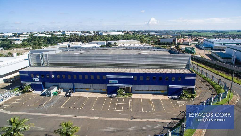 Galpão logístico para alugar, 1.168m² - Techno Park - Campinas/SP