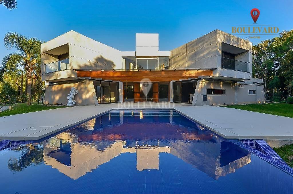 Casa Condomínio Pousada Quatro Barras, com 504 m² por R$ 2.950.000 - Quatro Barras - Quatro Barras/PR