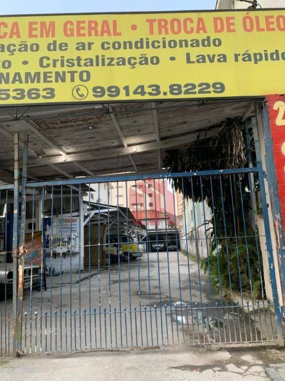 Terreno à venda, 500 m² por R$ 1.500.000,00 - Marapé - Santos/SP