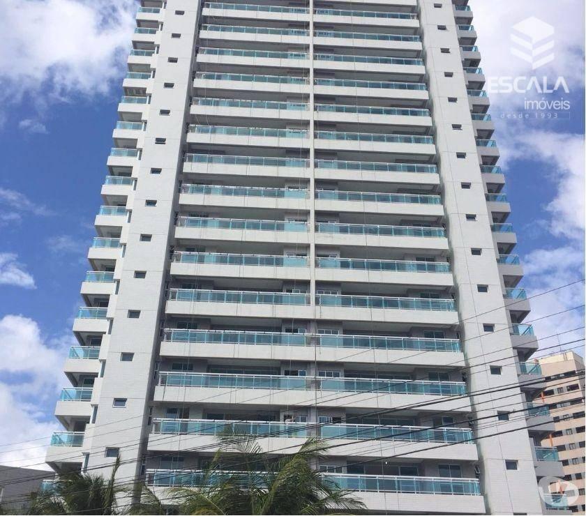 Apartamento com 3 quartos à venda na Aldeota. Novo, 111m2, 2 vagas, lazer completo. Financia.