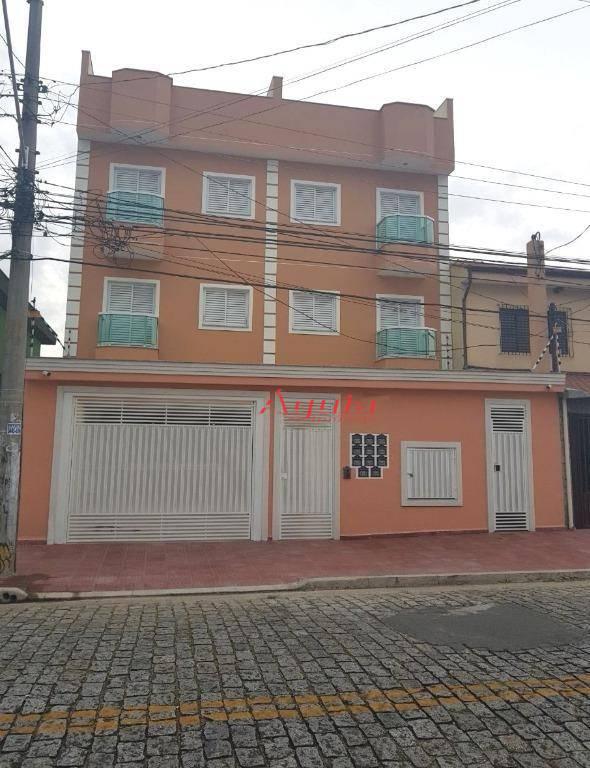 Apartamento residencial à venda, Vila São Pedro, Santo André.