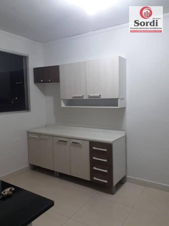 Apartamento residencial à venda, Residencial Jequitibá, Ribeirão Preto.