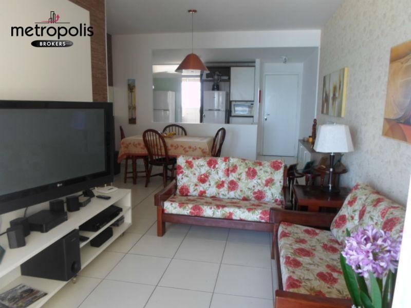Apartamento com 2 dormitórios à venda, 70 m² por R$ 345.000 - Vila Mirim - Praia Grande/SP