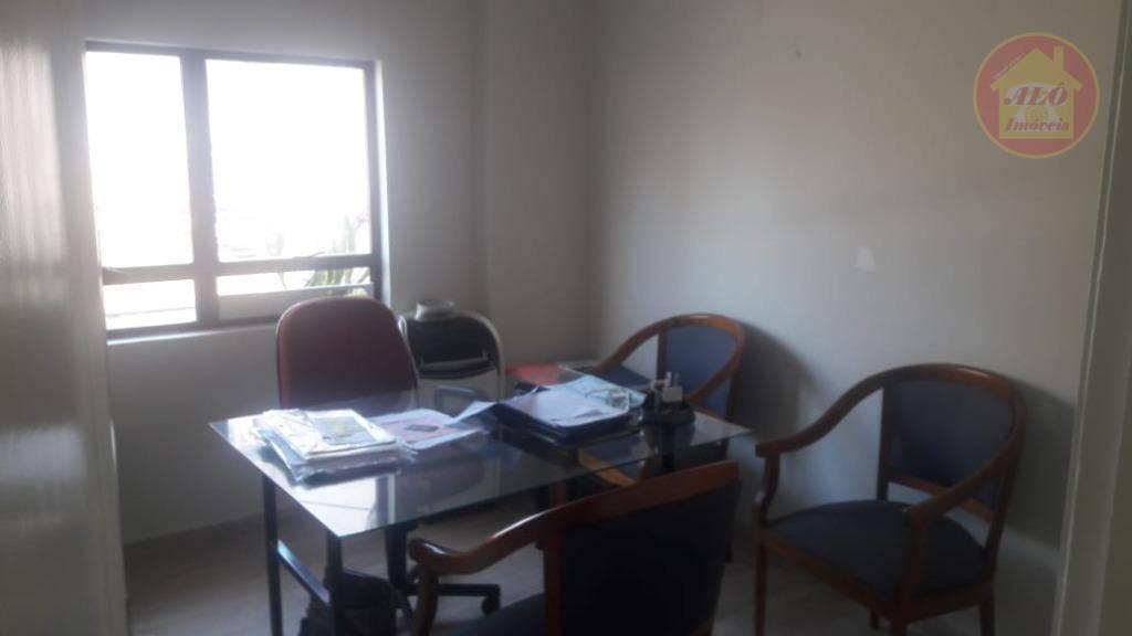 Sala para alugar, 12 m² por R$ 900,00/mês - Boqueirão - Praia Grande/SP