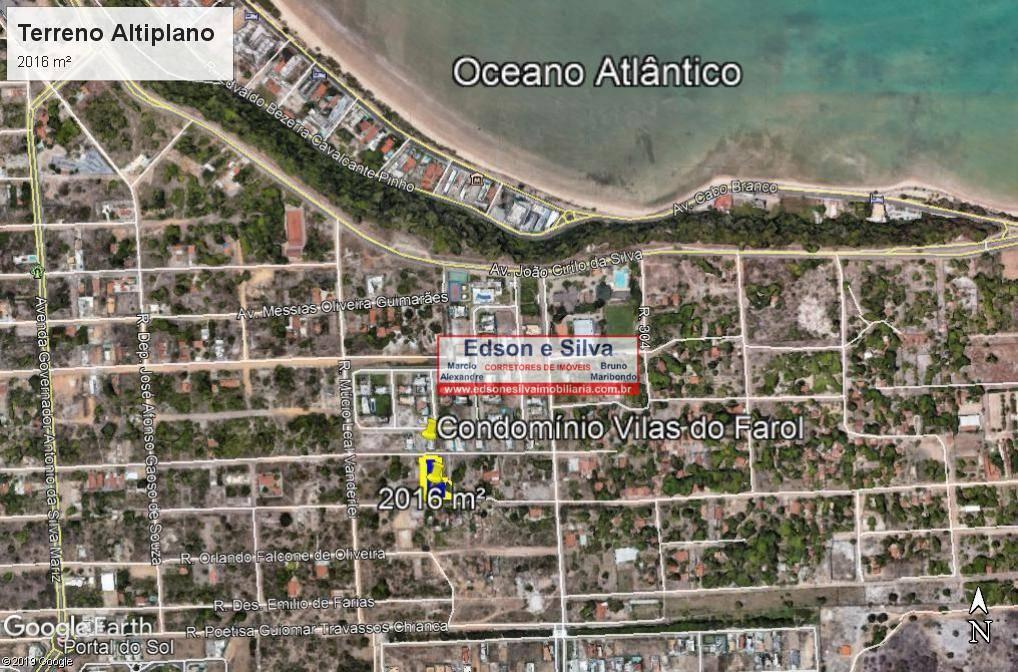 Terreno à venda, 2016 m² por R$ 730.000 - Portal do Sol - João Pessoa/PB