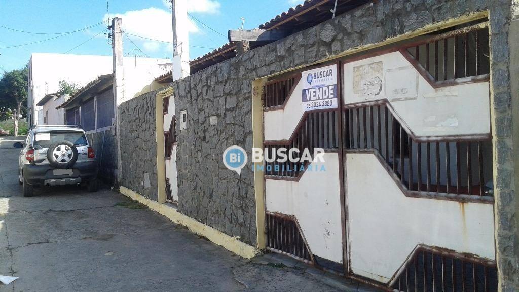Casa com 3 dormitórios à venda, 200 m² por R$ 160.000 - Muchila II - Feira de Santana/BA