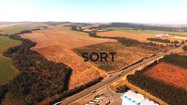 Terreno Industrial, em Ponta Grossa