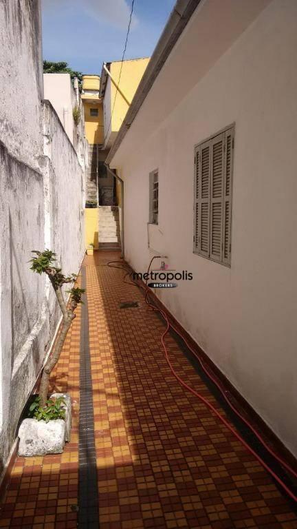 Casa com 2 dormitórios à venda por R$ 620.000 - Olímpico - São Caetano do Sul/SP