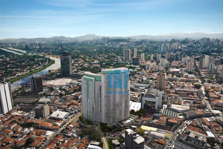Sala à venda, 46 m² por R$ 506.000 - Pinheiros - São Paulo/SP - SA0188.