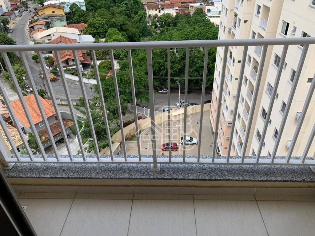 Apartamento com 2 dormitórios à venda, 58 m² por R$ 244.000,00 - Maria Paula - São Gonçalo/RJ