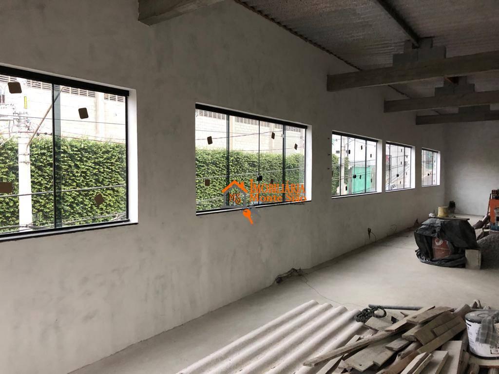Sala para alugar, 120 m² por R$ 3.300,00/mês - Jardim Almeida Prado - Guarulhos/SP