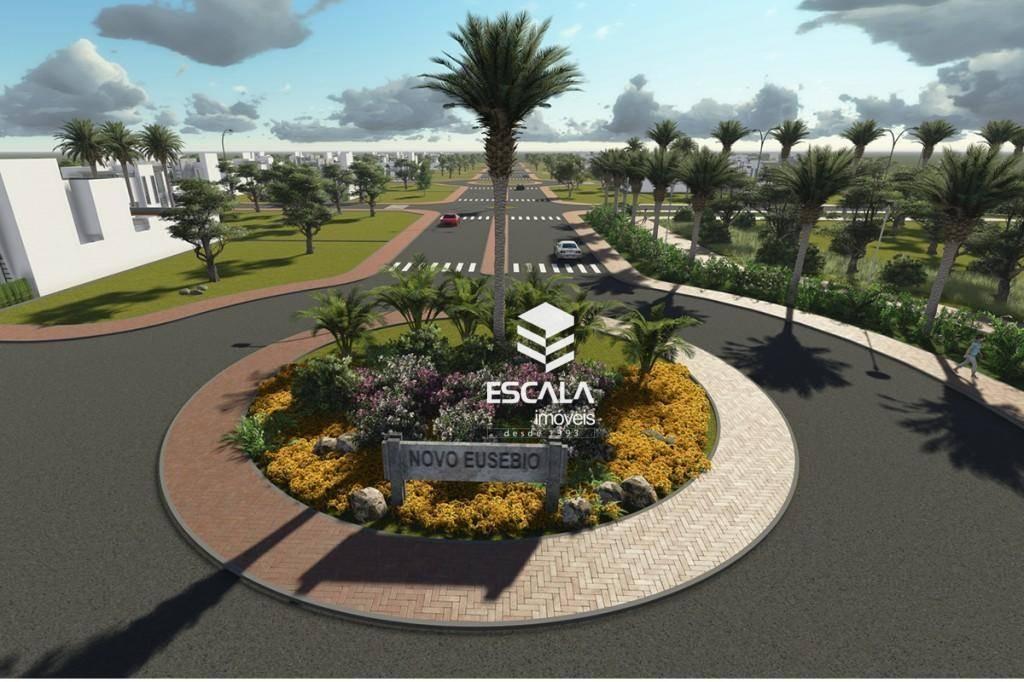 Terreno à venda, 300 m² por R$ 90.000,00 - Centro - Eusébio/CE
