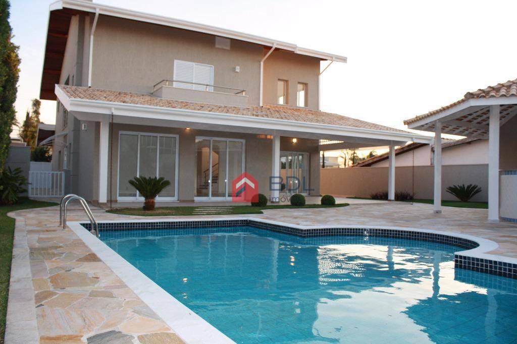 Casa residencial à venda, Alphaville , Campinas - CA0139.