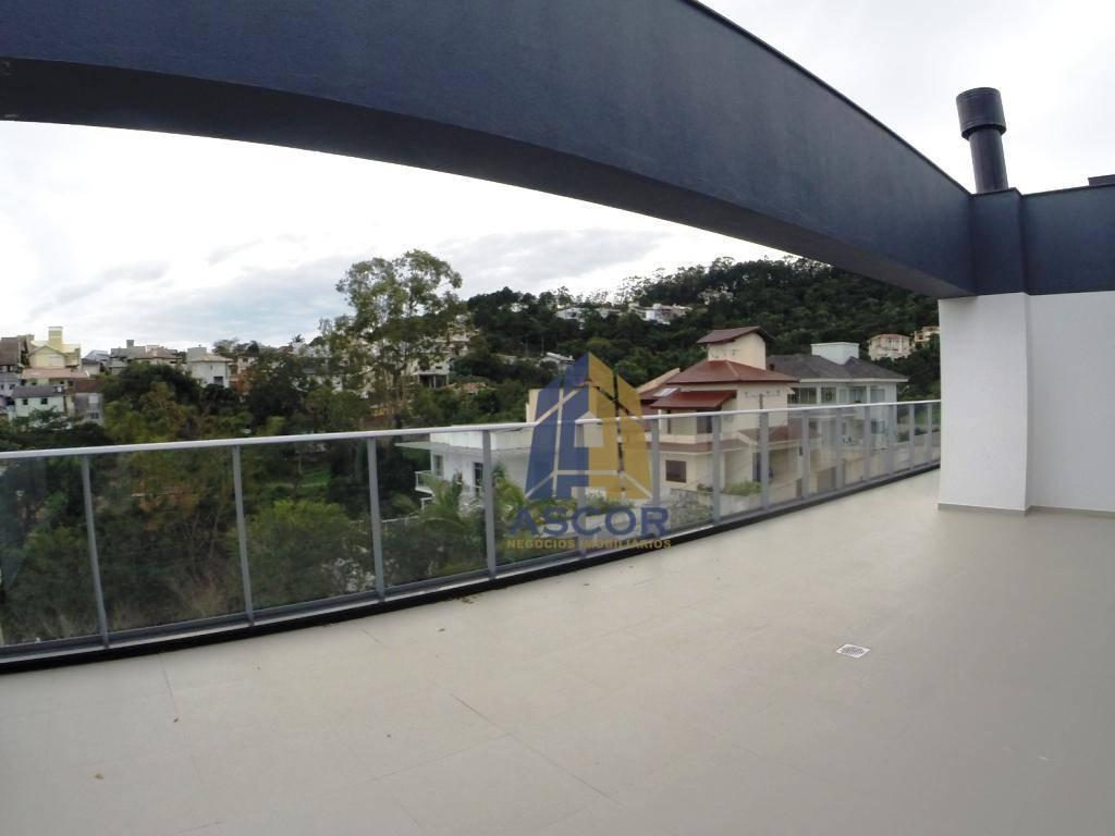 Cobertura com 3 dormitórios à venda, 308 m² por R$ 2.352.000,00 - João Paulo - Florianópolis/SC