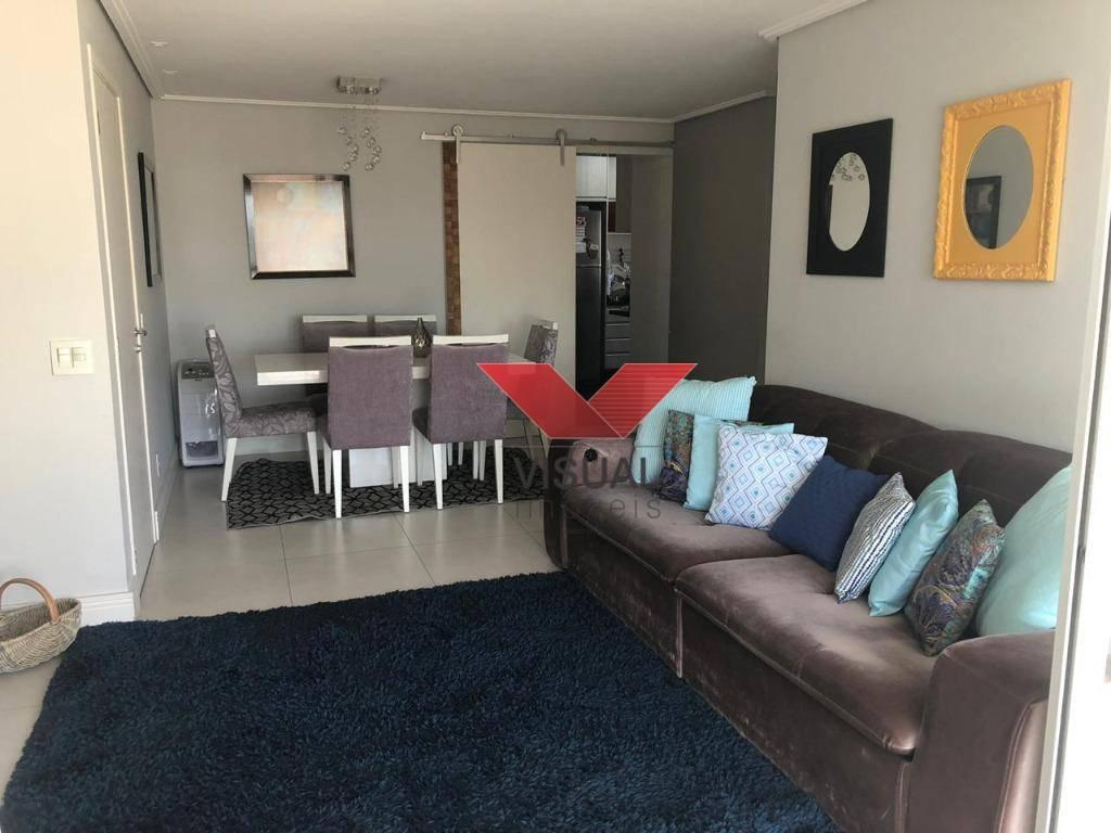 Apartamento com 3 dormitórios à venda, 98 m² por R$ 795.000 - Olímpico - São Caetano do Sul/São Paulo