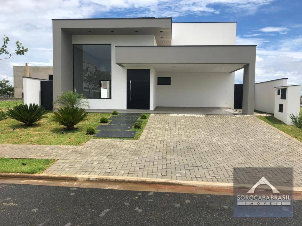 Casa com 3 dormitórios à venda, 220 m² por R$ 1.190.000 - Alphaville Nova Esplanada III - Votorantim/SP, PRÓXIMO AO SHOPPING IGUATEMI.