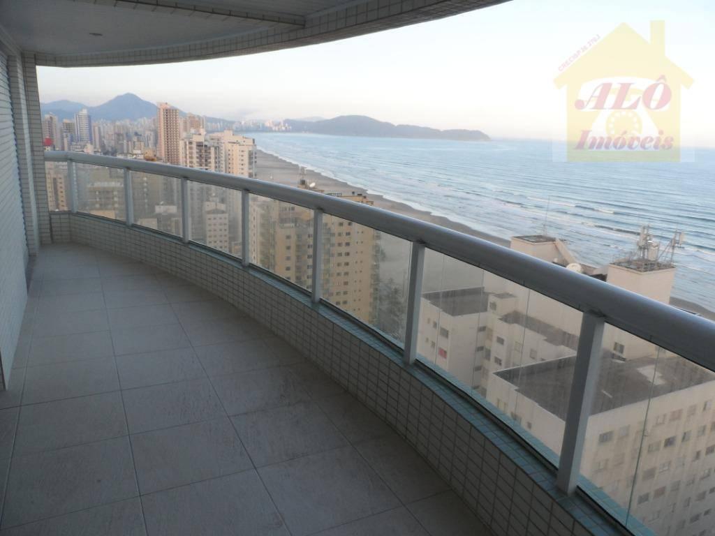 Apartamento à venda, 197 m² por R$ 1.060.000,00 - Aviação - Praia Grande/SP
