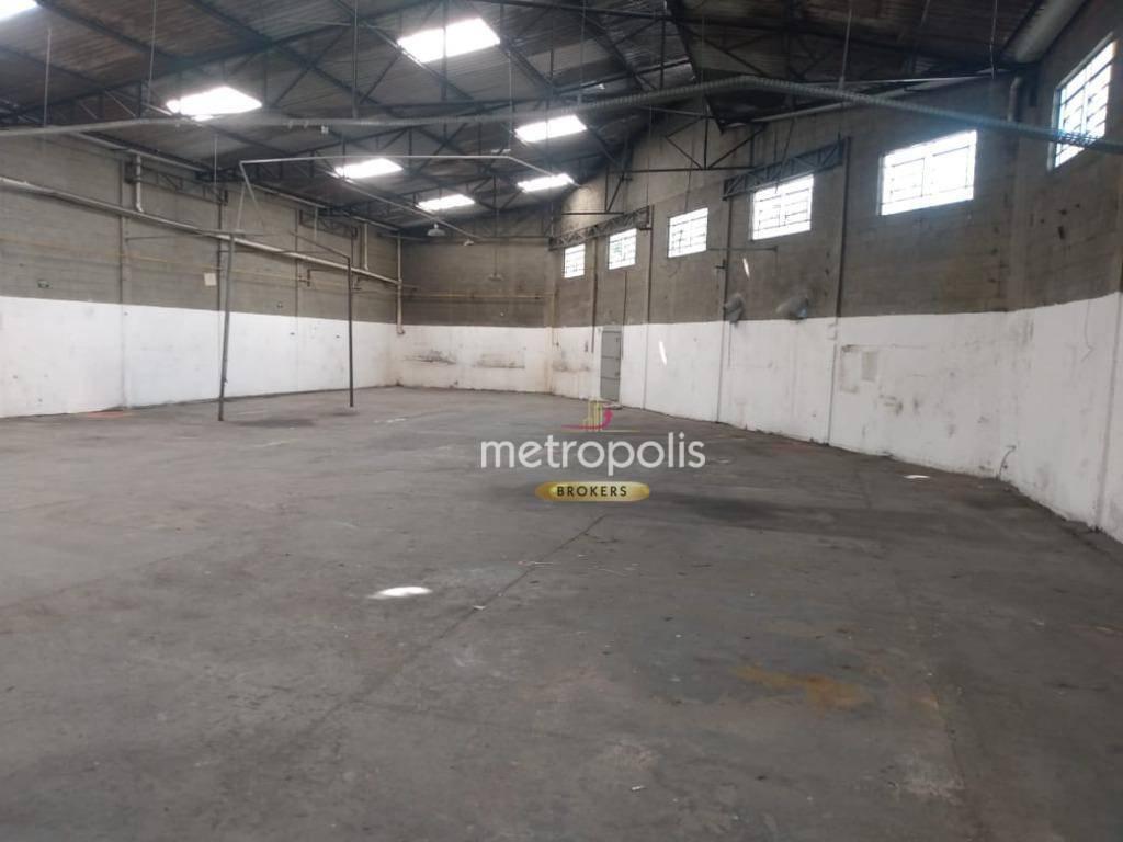Galpão para alugar, 810 m² por R$ 10.000/mês - Conceição - Diadema/SP