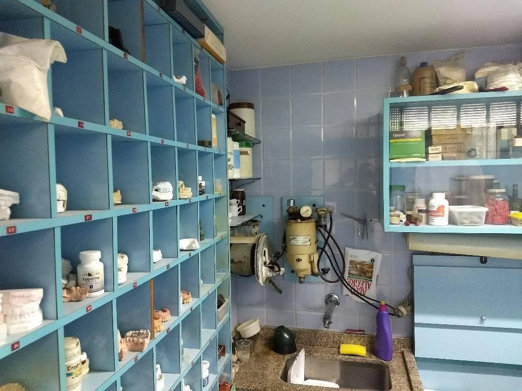 Consultório dentista à venda, 94 m² (junção de 3 salas) no Centro de São Caetano do Sul.