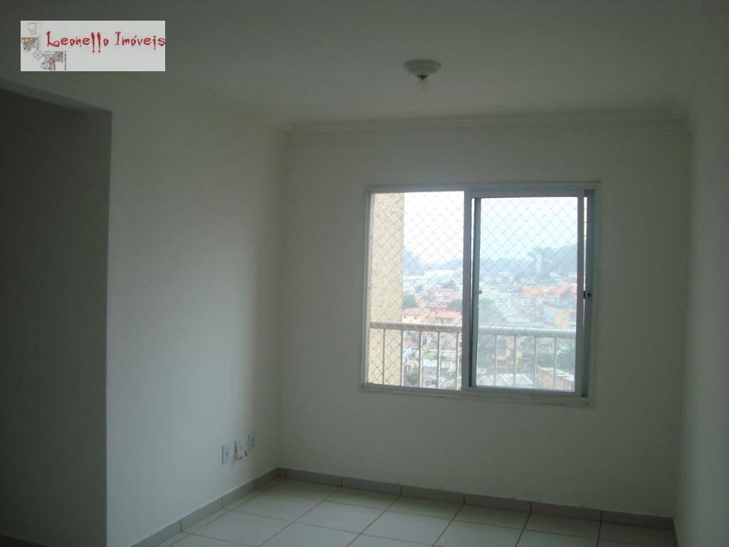 Apartamento com 2 dormitórios para alugar, 50 m² - Parque Erasmo Assunção - Santo André/SP